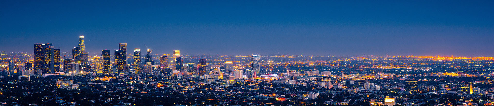 Los Angeles City Scape Banner